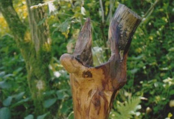 l'ange en bois